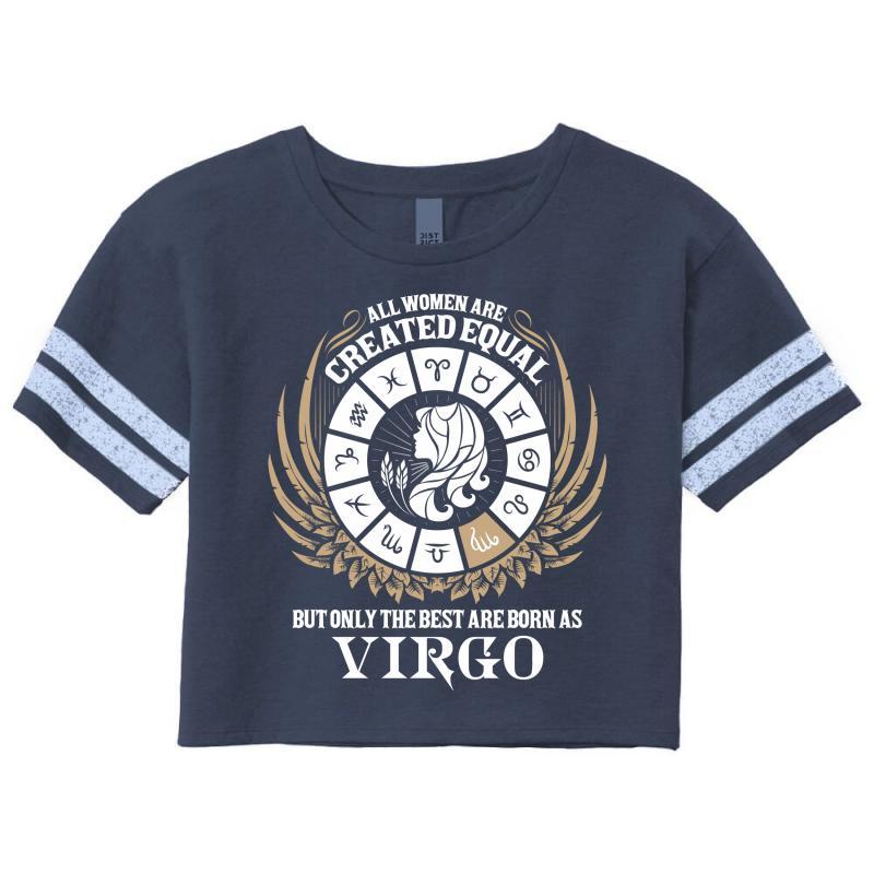 Virgo Women Scorecard Crop Tee | Artistshot