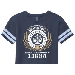 Libra Women Scorecard Crop Tee Designed By Tshiart