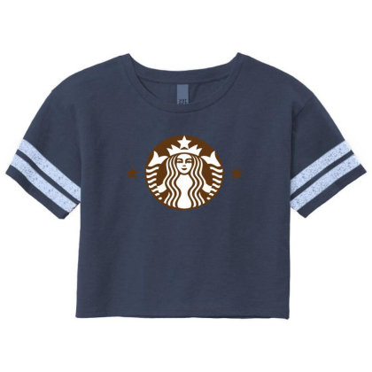Starbucks Scorecard Crop Tee Designed By Sabriacar