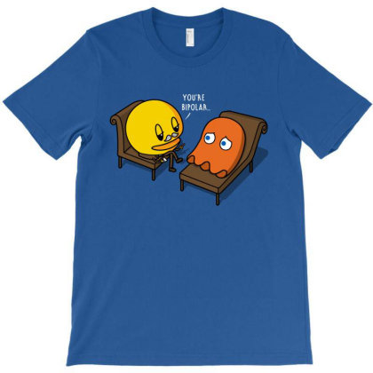 Psych-man! T-shirt Designed By Raffiti