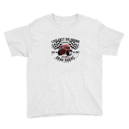 Race Youth Tee Designed By Disgus_thing