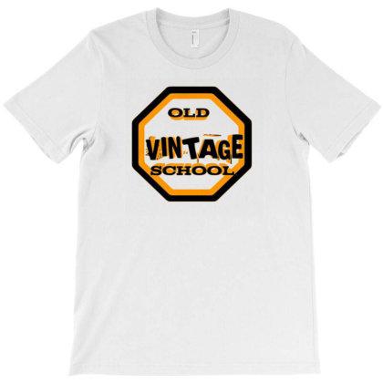 Old School Vintage T-shirt Designed By Dav