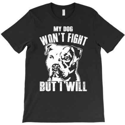 Pitbull Don't Fight Funny Dog Lover Shirt T-shirt Designed By Hoainv