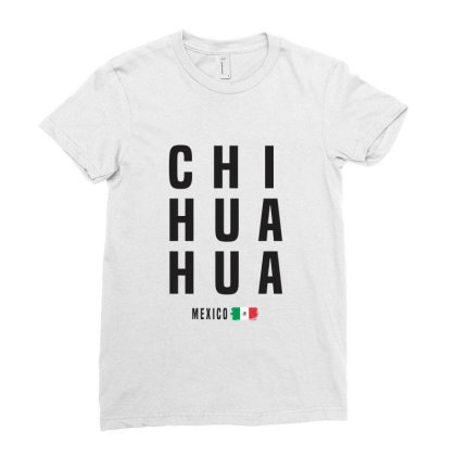 Chihuahua Ladies Fitted T-shirt Designed By Chris Ceconello