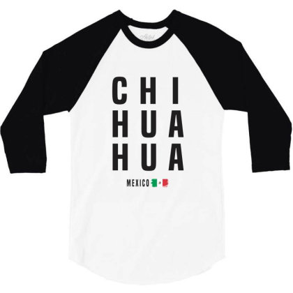 Chihuahua 3/4 Sleeve Shirt Designed By Chris Ceconello