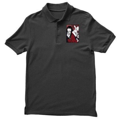 Kakegurui Yumeko Men's Polo Shirt Designed By Paísdelasmáquinas