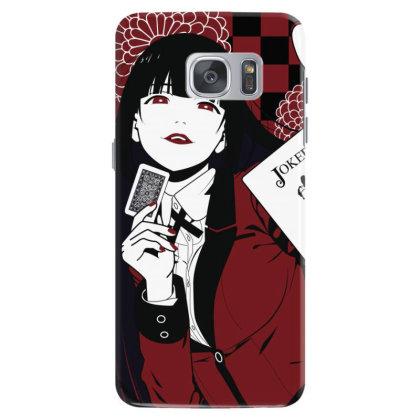 Kakegurui Yumeko Samsung Galaxy S7 Case Designed By Paísdelasmáquinas