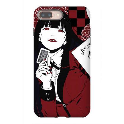 Kakegurui Yumeko Iphone 8 Plus Case Designed By Paísdelasmáquinas