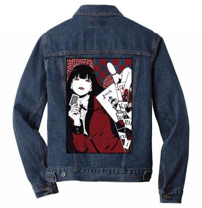 Kakegurui Yumeko Men Denim Jacket Designed By Paísdelasmáquinas