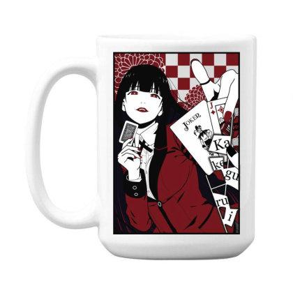 Kakegurui Yumeko 15 Oz Coffe Mug Designed By Paísdelasmáquinas