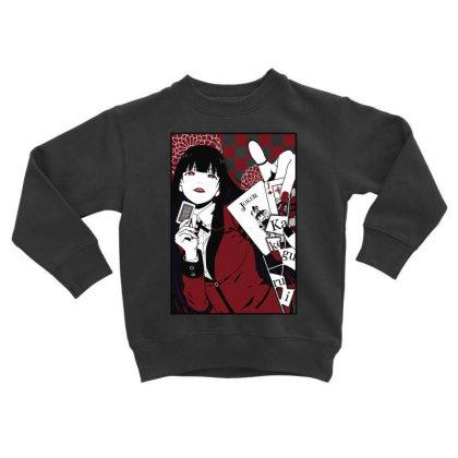 Kakegurui Yumeko Toddler Sweatshirt Designed By Paísdelasmáquinas