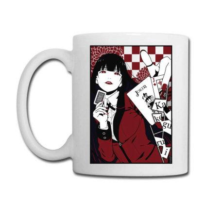Kakegurui Yumeko Coffee Mug Designed By Paísdelasmáquinas