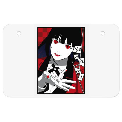 Yumeko Kakegurui Atv License Plate Designed By Paísdelasmáquinas