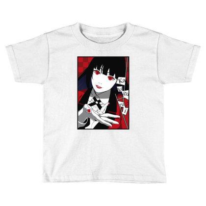 Yumeko Kakegurui Toddler T-shirt Designed By Paísdelasmáquinas