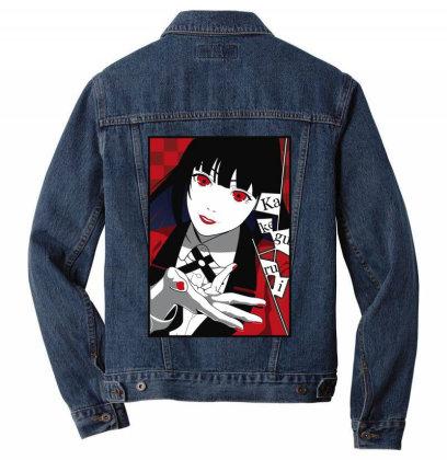 Yumeko Kakegurui Men Denim Jacket Designed By Paísdelasmáquinas