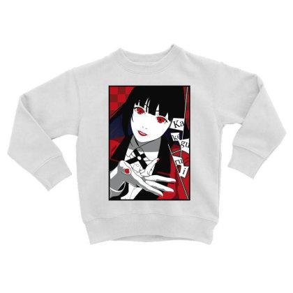 Yumeko Kakegurui Toddler Sweatshirt Designed By Paísdelasmáquinas