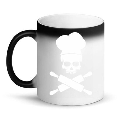 Baker Skull Funny Magic Mug Designed By Erishirt