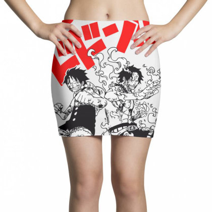 Luffy And Ace Mini Skirts Designed By Paísdelasmáquinas