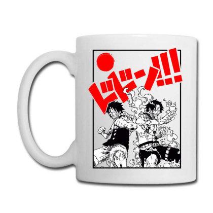 Luffy And Ace Coffee Mug Designed By Paísdelasmáquinas