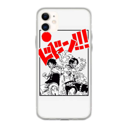 Luffy And Ace Iphone 11 Case Designed By Paísdelasmáquinas