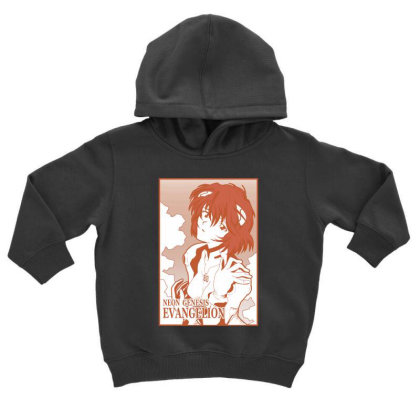 Rei Ayanami Toddler Hoodie Designed By Paísdelasmáquinas