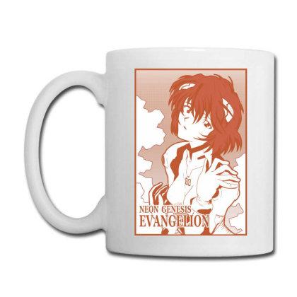 Rei Ayanami Coffee Mug Designed By Paísdelasmáquinas
