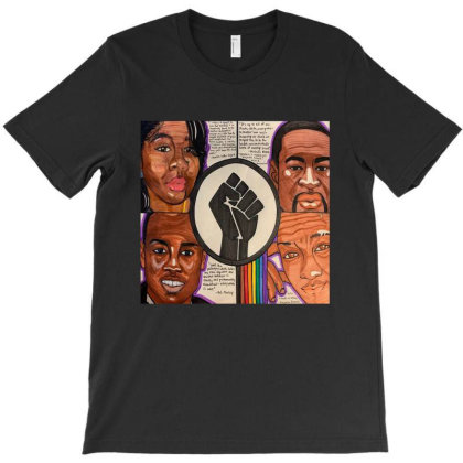 Black Lives Matter Protest T-shirt Designed By Azura Store