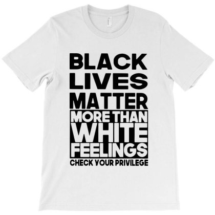 Typography Black Lives Matter T-shirt Designed By Azura Store