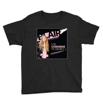 Awesome Blairfor Congress Youth Tee Designed By Azura Store