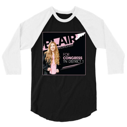 Awesome Blairfor Congress 3/4 Sleeve Shirt Designed By Azura Store