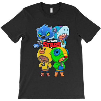 Cartoon Brawl Stars Leon T-shirt Designed By Azura Store