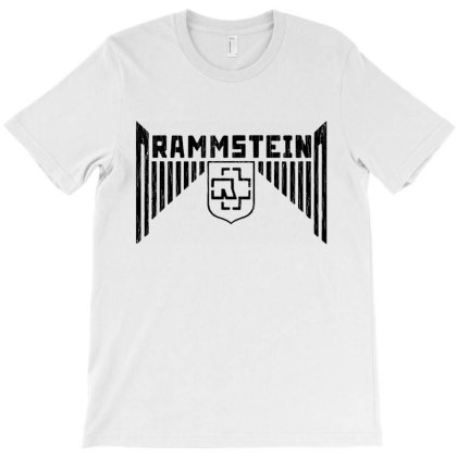 Rammstein Band Music T-shirt Designed By Azura Store