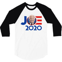 joe 2020 politics 3/4 Sleeve Shirt | Artistshot