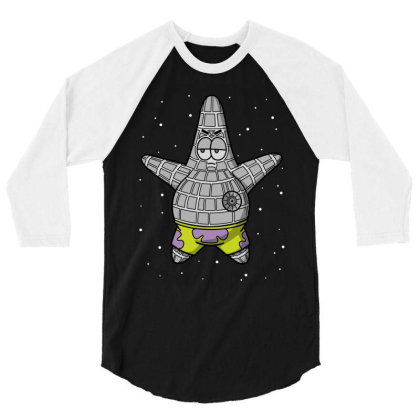 Death Starfish! 3/4 Sleeve Shirt Designed By Raffiti