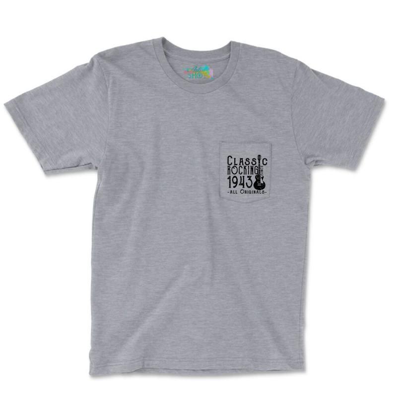 Rocking Since 1943 Pocket T-shirt | Artistshot