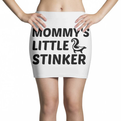 Mommy's Little Stinker Skunk Mini Skirts Designed By Perfect Designers
