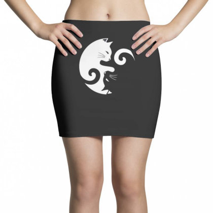 Cat Moon Mini Skirts Designed By Disgus_thing