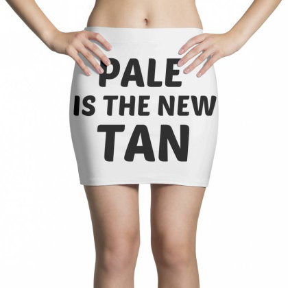 Pale Is The New Tan Mini Skirts Designed By Perfect Designers