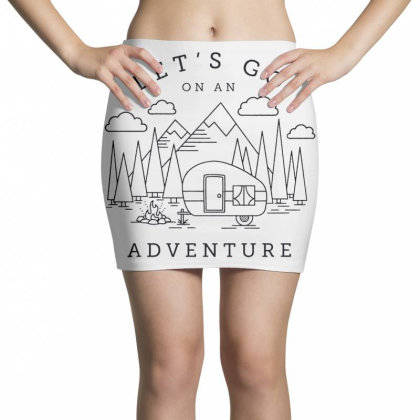 Let's Go Adventure Cool Mini Skirts Designed By Shopyes