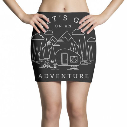 Let's Go Adventure Mini Skirts Designed By Shopyes