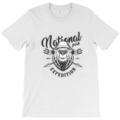 National Park, Wild Life Expedition T-shirt Designed By Estore