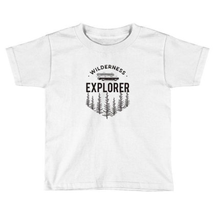Explorer Toddler T-shirt Designed By Disgus_thing