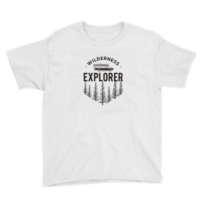 Explorer Youth Tee Designed By Disgus_thing