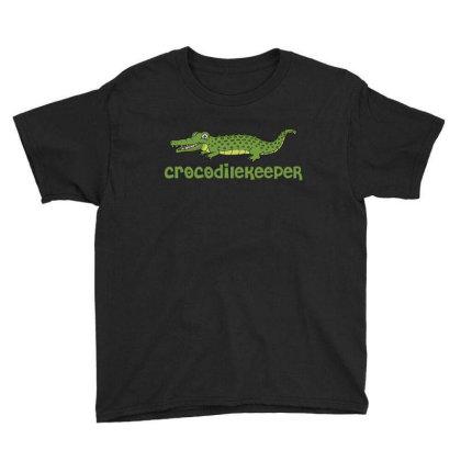 Crocodilekeeper Funny Crocodile Keeper T Shirt Youth Tee Designed By Gnuh79