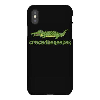 Crocodilekeeper Funny Crocodile Keeper T Shirt Iphonex Case Designed By Gnuh79