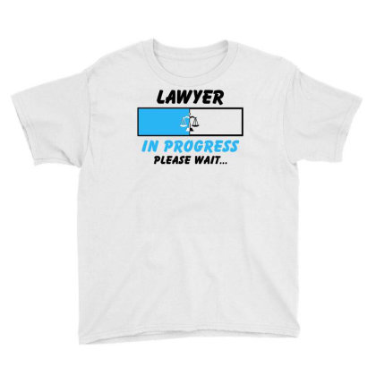 Lawyer In Progress For Light Youth Tee Designed By Sengul