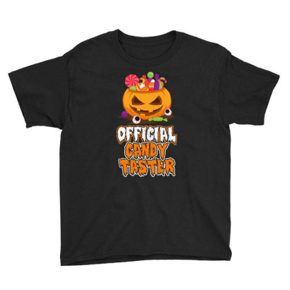 Offical Candy Taster Halloween T Shirt Youth Tee Designed By Gnuh79