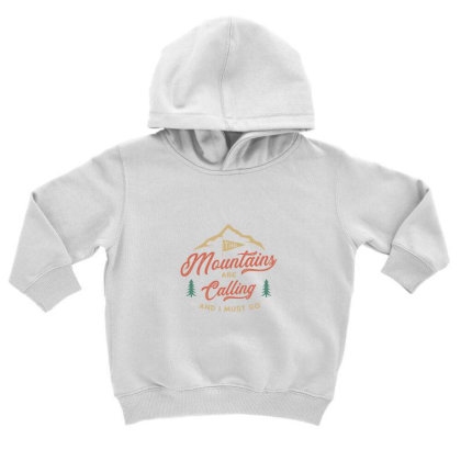 Mountains Toddler Hoodie Designed By Disgus_thing