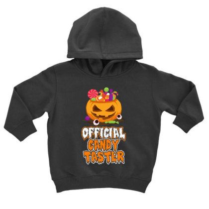 Offical Candy Taster Halloween T Shirt Toddler Hoodie Designed By Gnuh79