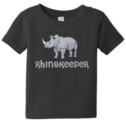 Rhinokeeper Funny Rhino Keeper T Shirt Baby Tee Designed By Gnuh79